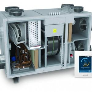 Климатични камери с вградена термопомпа